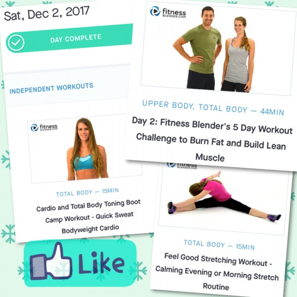 Active Rest day: Upper Body and Cardio | Community | Fitness Blender