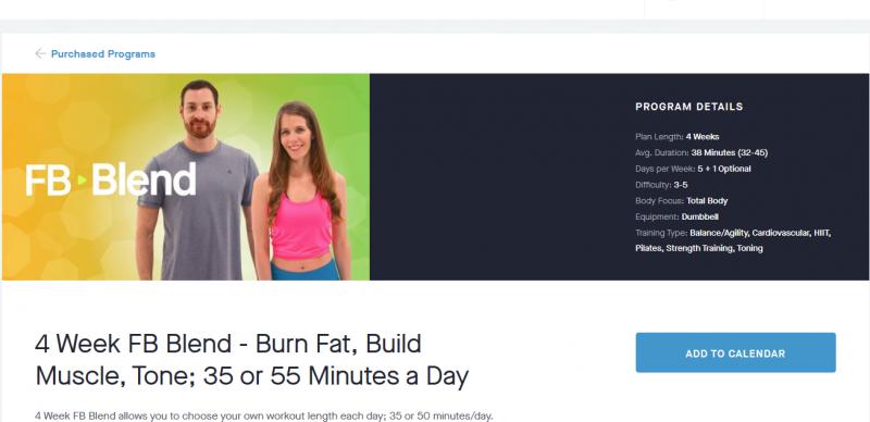 FB Blend | Community | Fitness Blender